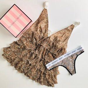 Victoria's Secret babydoll lingerie set - MEDIUM